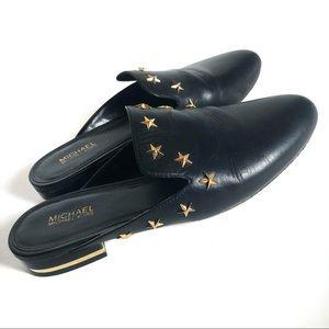 Michael Kors Natasha star stars mule slide shoe 6